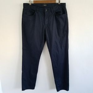 Theory Navy Blue Chino Casual Pants Size 34.